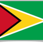 guyana-framed-flag