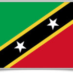 saint-kitts-and-nevis-framed-flag