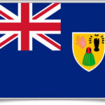 turks-and-caicos-islands-framed-flag
